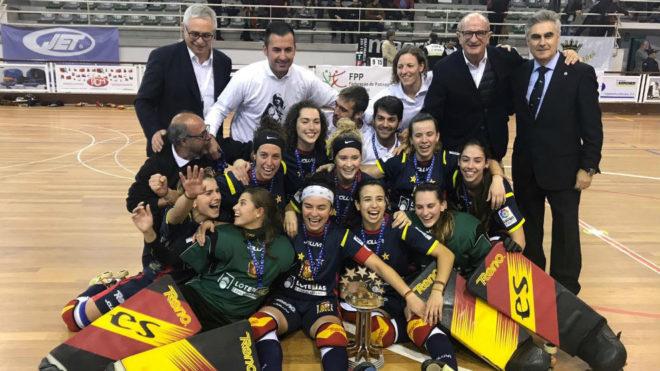 La selección femenina, tras ganar el Europeo
