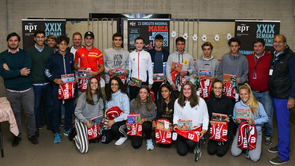 Participantes en el Masters del MARCA Jóvenes Promesas 2018