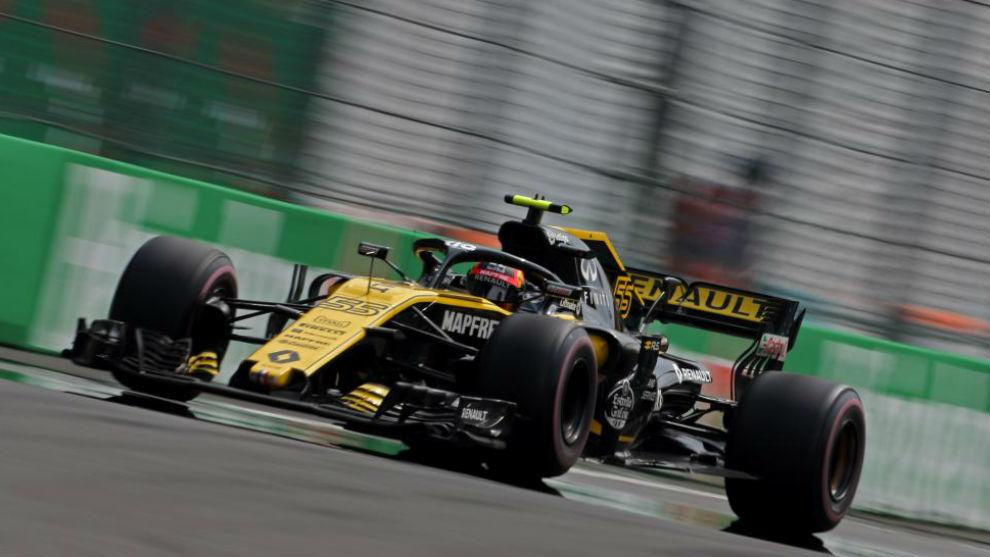 Sainz, en el pasado GP de Estados Unidos