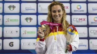 Sarai Gascón, con el oro en el Campeonato del Mundo de natación...