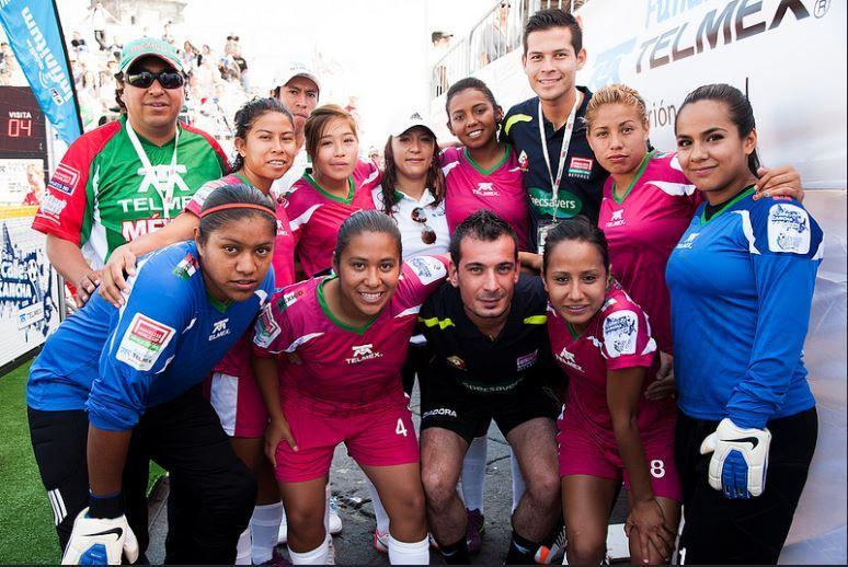 Selección mexicana femenil, campeona del mundo.