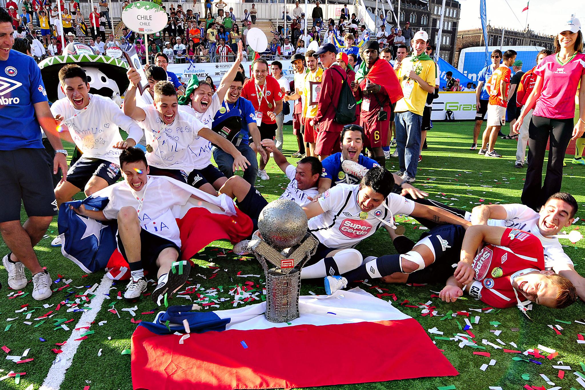 Chile festeja su título de la HWC 2012