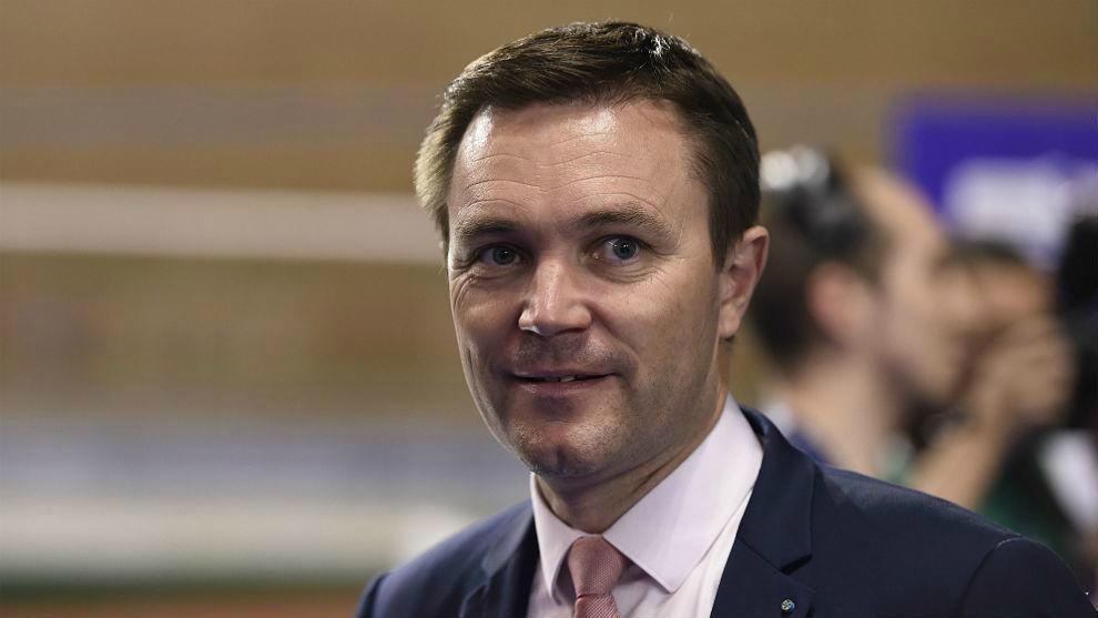 El presidente de la UCI, David Lappartient.