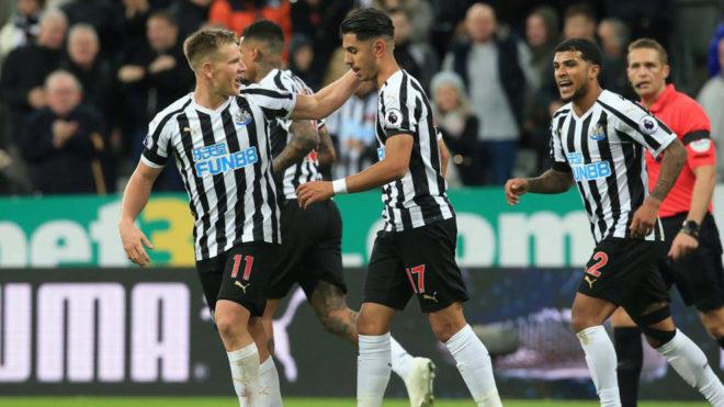 Newcastle United vs Watford Ayoze Pérez marca, el Newcastle gana su primer  partido y sale del descenso - Premier League: