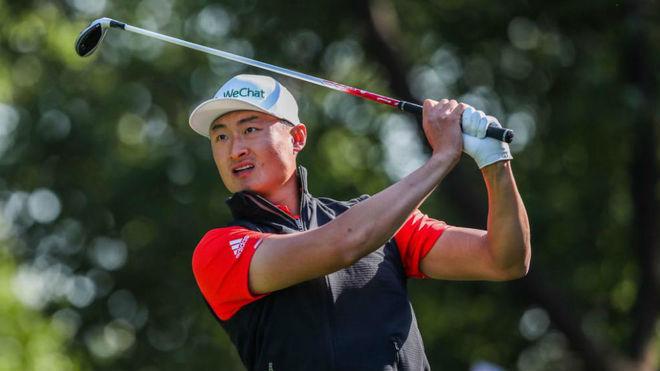 Haotong Li (23) la semana pasada en el HSBC Champions.