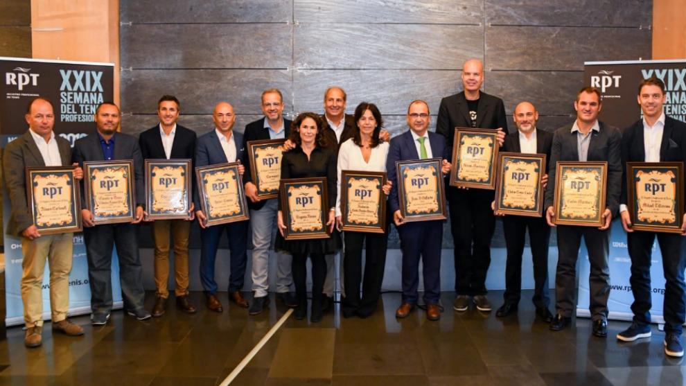 Galardonados por los Premios Anuales RTP en 2018