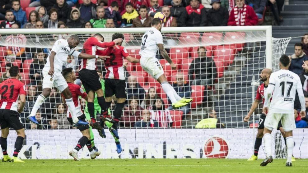 El Athletic empató la última jornada con el Valencia.