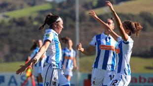 Kiana Palacios se estrena como goleadora con la Real Sociedad