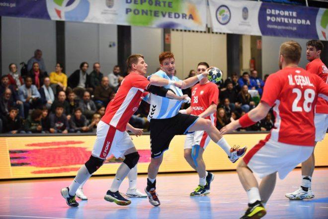 Vainstein, en un partido con Argentina en el Torneo Internacional de...