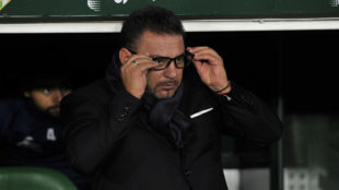 Antonio Mohamed, en el partido