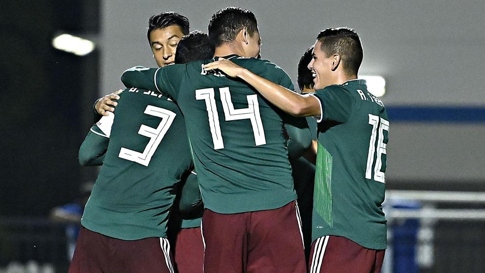 La Selección Mexicana volvió a golear en Premundial Sub-20