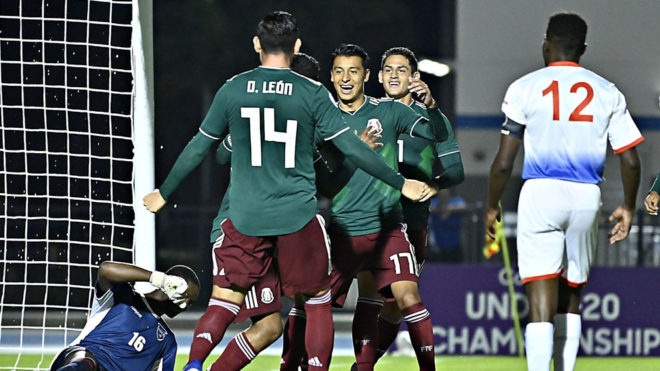 Tri sub 20 golea a Saint Martin en Premundial de Concacaf