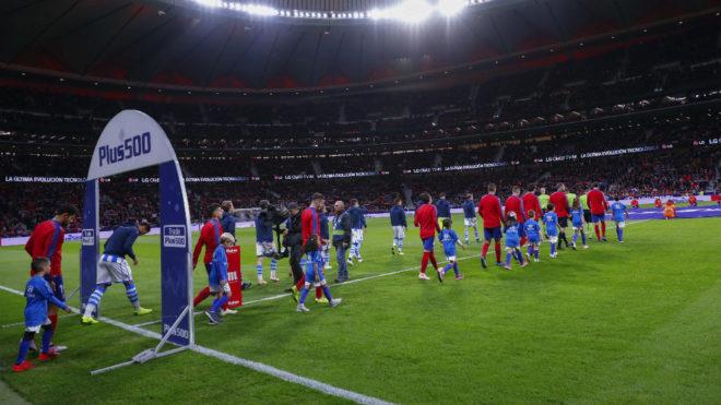 Next four games all at the Wanda Metropolitano