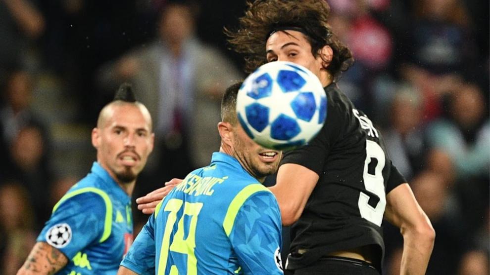 "Neymar Jr estalló contra Kuipers, el árbitro del Nápoles-PSG"""