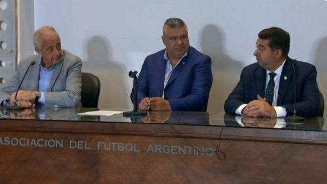D'Onofrio, Tapia y Angelici definieron las fechas de la Libertadores.
