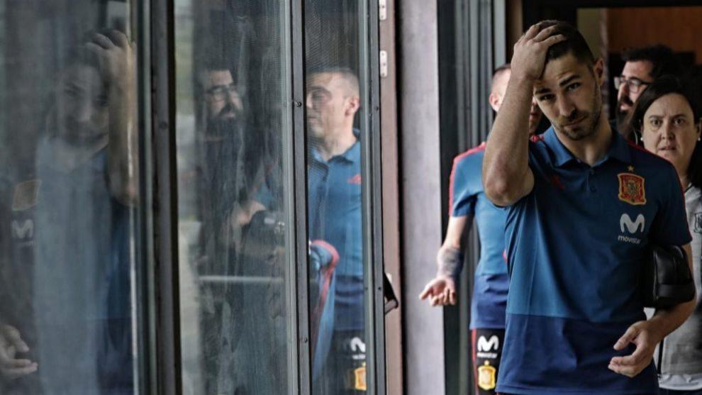 Yeray tiene pasado en la sub21 y en entrenamientos con la absoluta