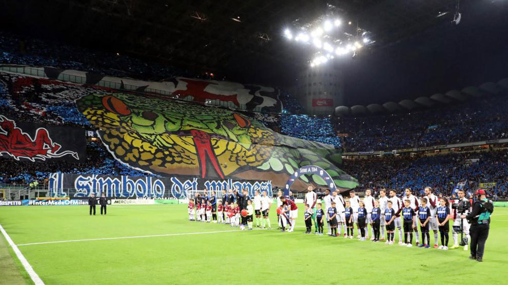 5.8m euros from the sale of Inter-Barcelona tickets