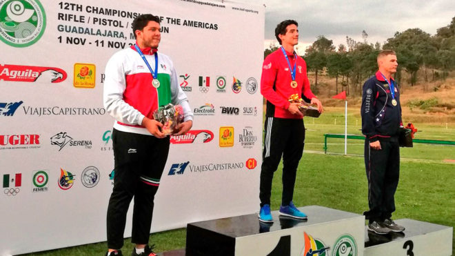 Orozco se quedó con el segundo puesto en el podio