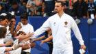 Zlatan Ibrahimovic con los LA Galaxy.