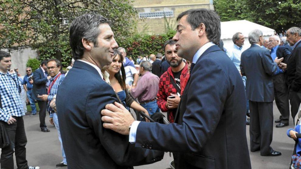 Urrutia y Macua, en las elecciones de 2011