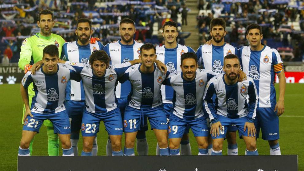El once del Espanyol contra el Athletic