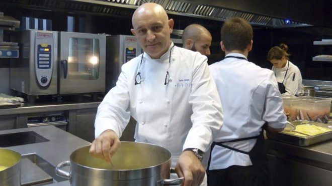 El restaurador Toño Pérez, del restaurante cacereño 'Atrio'