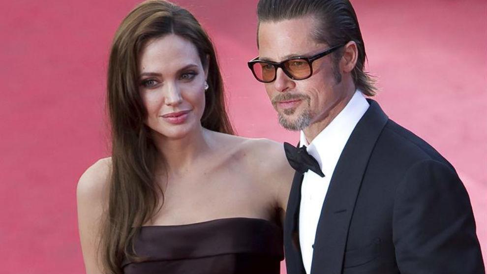 Brad Pitt y Angelina Jolie negocian la custodia compartida de sus seis...