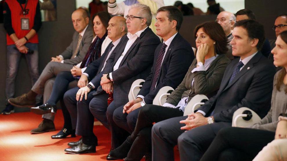 Miembros de la Junta Directiva del Athletic de Bilbao