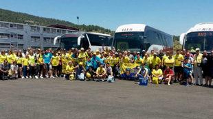 Desplazamiento de aficionados del Villarreal CF