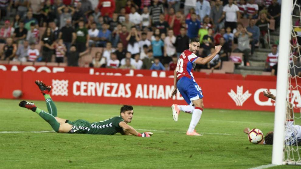 Antonio Puertas, en el partido ante el Majadahonda