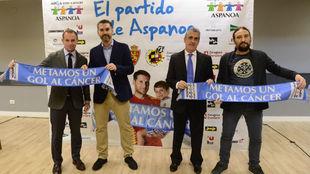 Christian Lapetra junto a Gabriel Tirado, Jesús Glaría y Pablo...