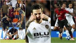 Imágenes de los partidos del Valencia ante Juventus, United y Young...
