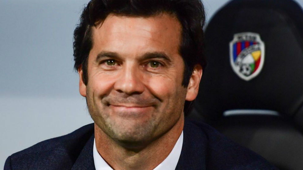 Madrid 'very happy' with Solari, says Butragueno
