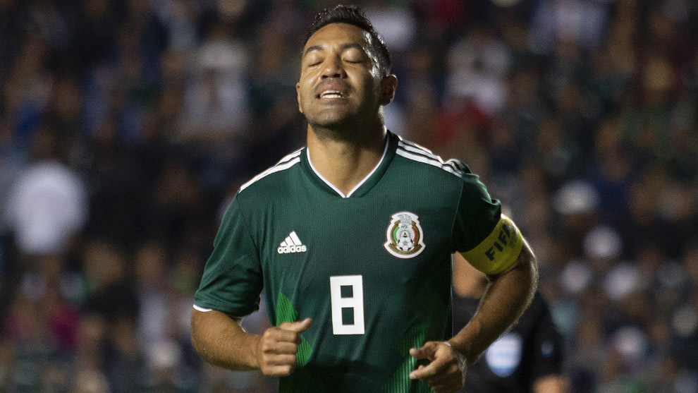 Fabián durante la última Fecha FIFA ante Chile