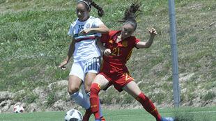 Las de Mónica Vergara se alistan para debutar en el Mundial