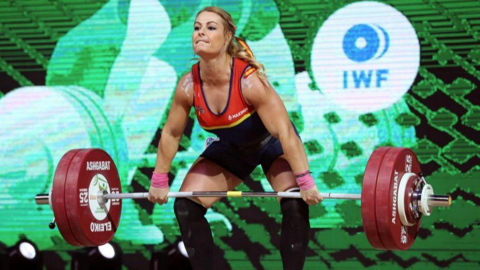 Lydia Valentín, de nuevo campeona del mundo