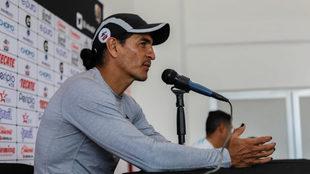 Palencia en conferencia de prensa.