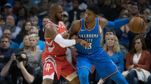 Chris Paul y George pelearon con todo.