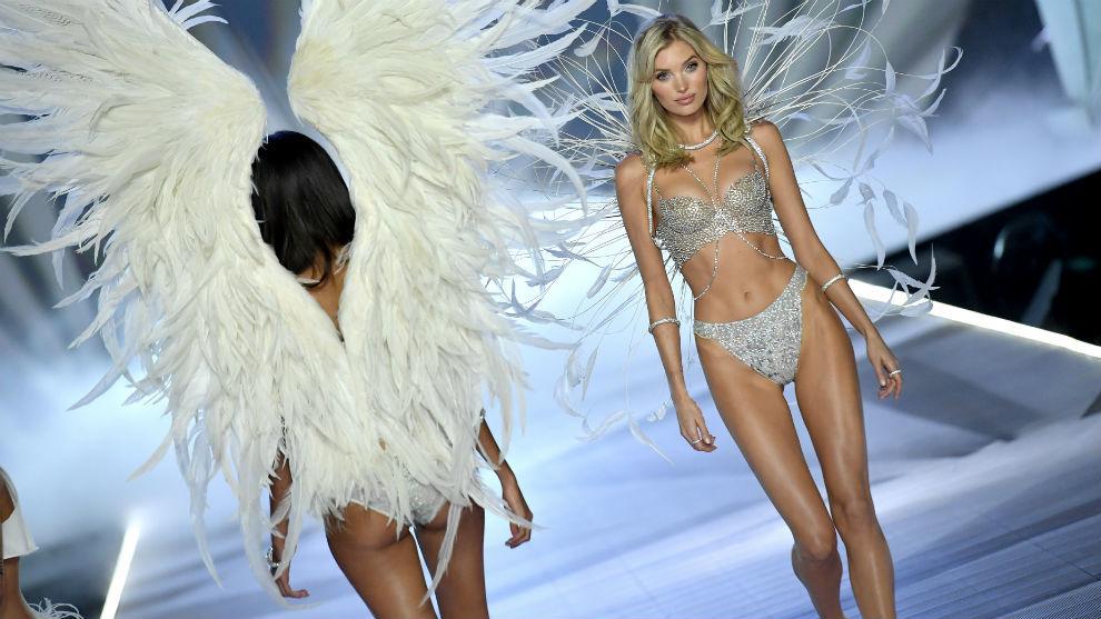 Elsa Hosk luciendo el Fantasy bra