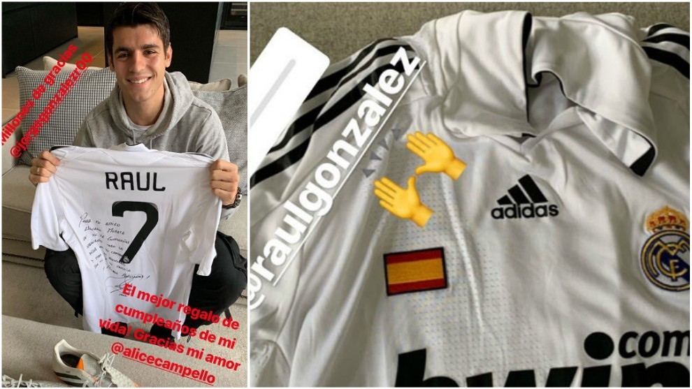 Morata receives the best birthday present of his life