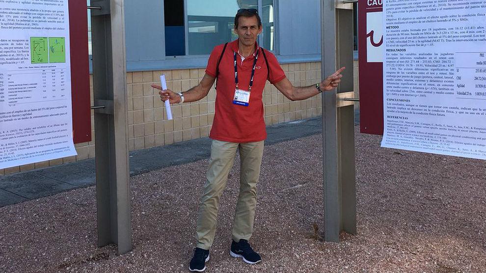 Antonio Sánchez, nuevo director deportivo del atletismo español.