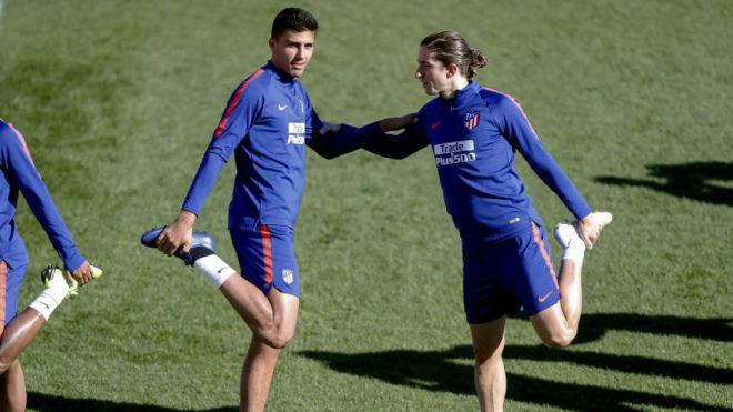 Rodri and Filipe Luis
