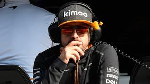 Fernando Alonso previo al GP de México