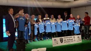 Los once socios más antiguos, homenajeados por la Federación de...