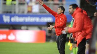 Mendilíbar dio por bueno el punto logrado en el José Zorrilla.