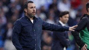 Sergio González lamentó la falta de gol de su equipo.