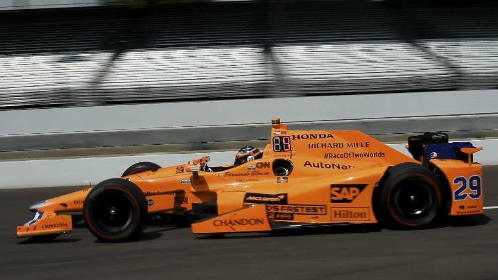 Oficial: Alonso correrá de nuevo las 500 MIllas de Indianápolis en 2019