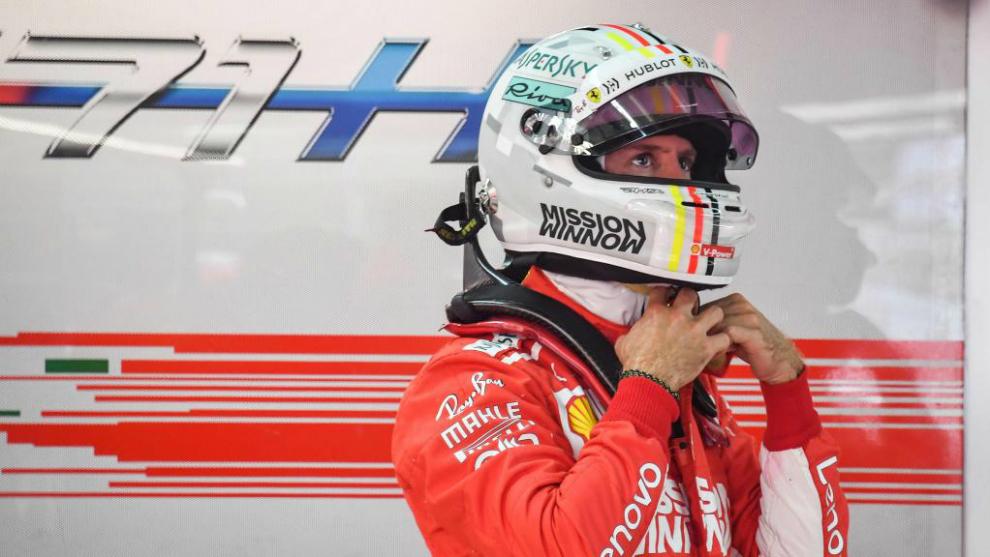 Vettel sobre su incidente durante el pesaje: