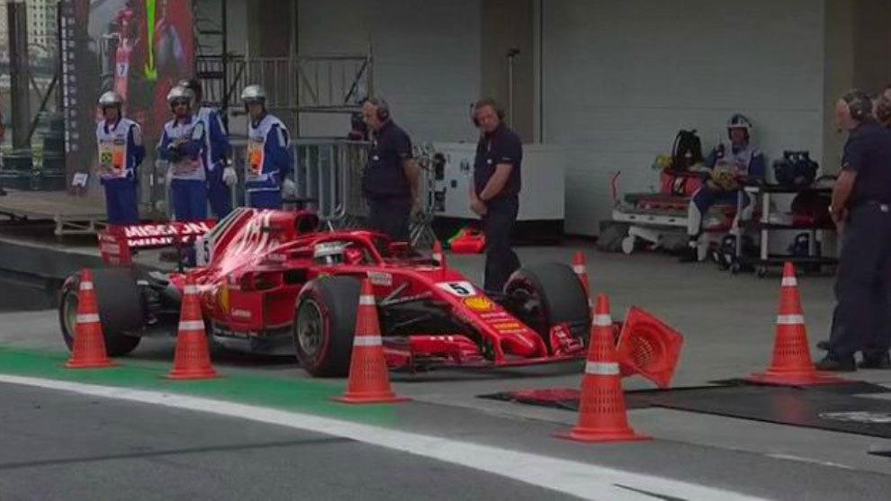 Reprimenda y 25.000 euros de multa para Vettel por su incidente en el pesaje
