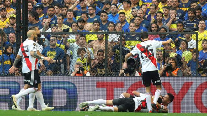 Boca vs River, minuto a minuto